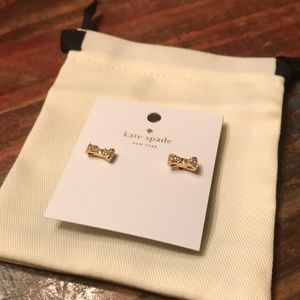Kate Spade ♠️ Pave Bow Studs Earrings